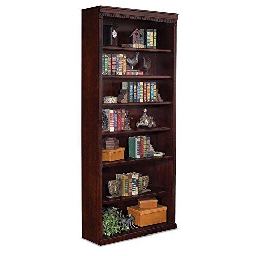 (Huntington Club Seven Shelf Traditional Bookcase - 84