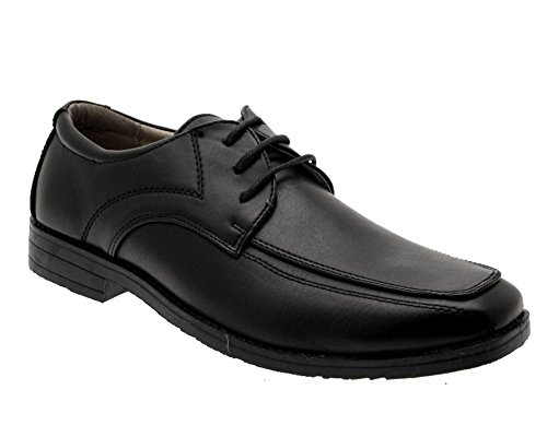 Black Souls Ups Leather Mens Lace Strong Faux Shoes XqZWda