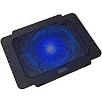 Dezful Laptop Cooling Pad K16 Notebook Radiator Base Computer Cooling Fan 14 Inch Bracket with 140mm Fan Slim Portable