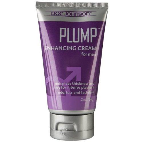 Doc Johnson Plump, Enhancement Cream for Men, 2 Oz