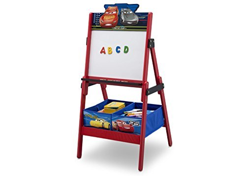 Delta Children Disney/Pixar Cars Activity Easel with Dry Erase Board and Magnetic Letters