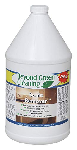 Calcium and Lime Remover, 1 gal. Jug, Unscented Liquid, Ready to Use, 4 PK