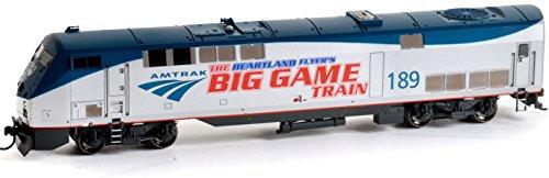 Athearn Ho Body (Athearn ATH88750 HO RTR AMD103/P42,Amtrak/PhaseV Big Game Train#189)