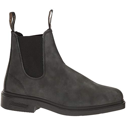 Blundstone Dress Series Chelsea Boot, Rustic Black, 13.5 M US Women / 11.5 M US - Thermal Up Leather Lace Boots