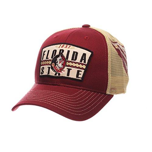 - Zephyr NCAA Florida State Seminoles Men's Interstate Trucker Cap, Adjustable, Cardinal