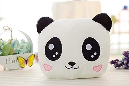 YGHBKL Emoji Felpa Panda Juguete Relleno Panda Mano ...