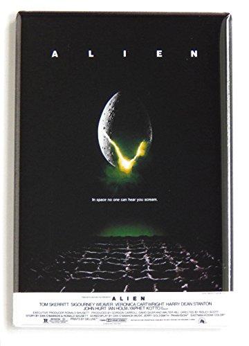Alien Movie Poster Fridge Magnet