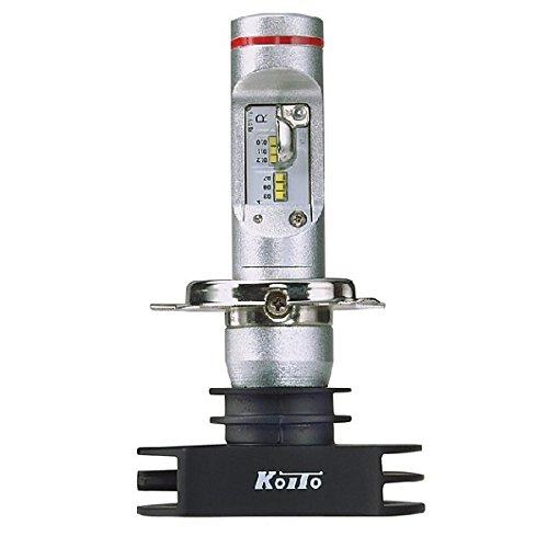 KOITO(小糸製作所)ヘッドランプ交換用LEDバルブ LEDホワイトビームNeo 12V 23/23W H4タイプ 6700K 点灯回路付 車検対応品 補修用 1個入り W314KWT B01M68W23M