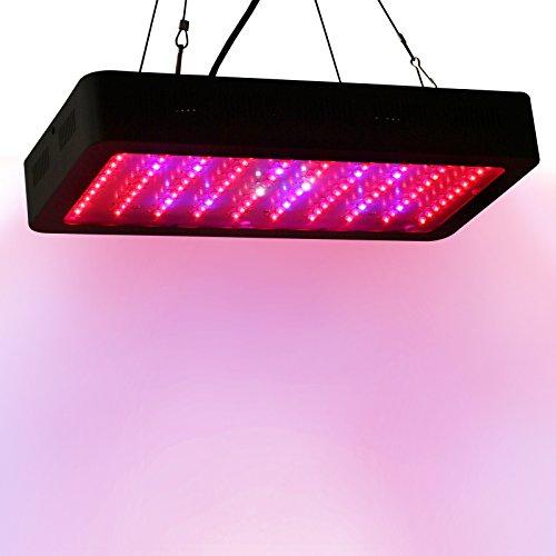 Lightimetunnel Dimmable 300W LED grow light full spectrum UV IR lamp indoor plant growth veg flowering lighting