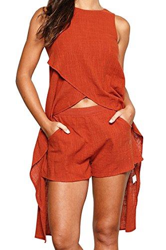 Fixmatti Womens Casual Irregular Outfits