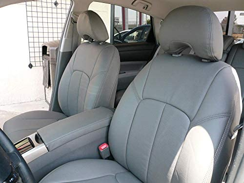 Grey Toyota Prius, Front Only Clazzio AP230121gry PVC Seat Cover