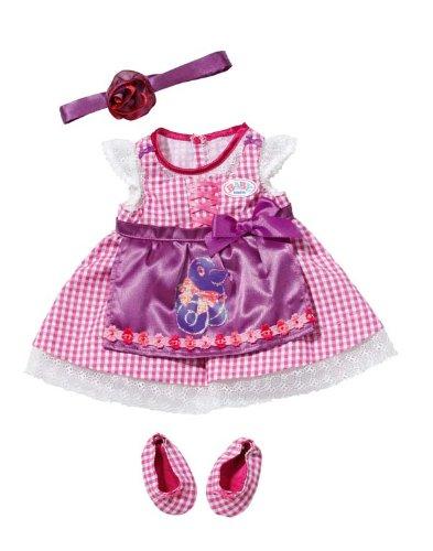 Kleidung & Accessoires Babypuppen & Zubehör Zapf BABY born® Dirndl ab 3 Jahren