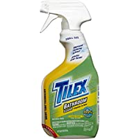 Tilex Clorox Plus Bathroom Cleaner, Spray Bottle, Lemon Scent, 16 Ounces (Pack of 3) (Packaging May Vary)