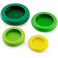 4 Pk. Farberware Food Huggers Silicone Food Savers