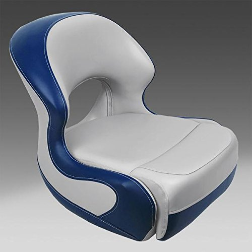 DeckMate Boat Bucket Seats (Gray & Blue)