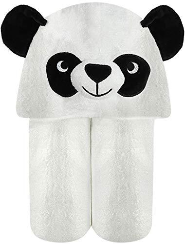 Baby Towel with Hood - 100% Organic Bamboo Hooded Panda Towel - Lilgoo by LilGoo