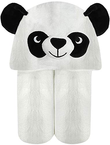 Baby Towel with Hood - 100% Organic Bamboo Hooded Panda Towel - Lilgoo by LilGoo (Image #9)