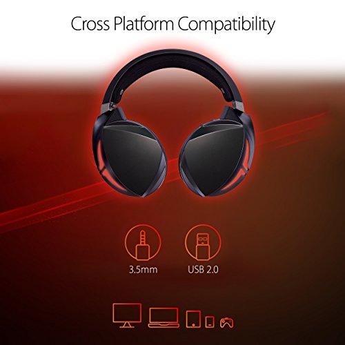 ROG Strix Fusion 700 Virtual 7.1 LED Bluetooth Gaming Headset for PC