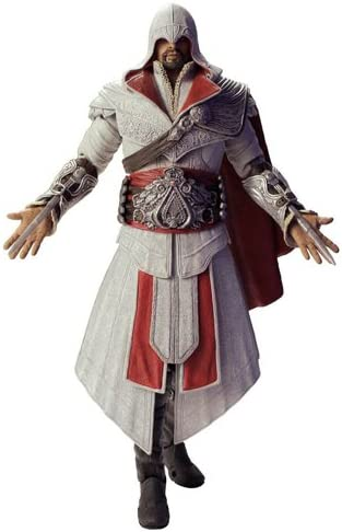 Amazon Com Assassins Creed Ezio Ivory Hooded 7 Action Figure
