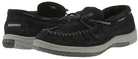 Rockport Indoor/Outdoor Slippers Black