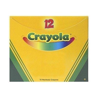 Crayola Non-Toxic Regular Single Color Refill Crayon (12 Pack), 5/16 x 3-5/8, Violet