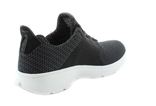 4 High Walk Fashion Men's White Black Ankle Sneaker Go Instinct Skechers nwY6xtOf