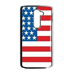 Unique US Flag Phone Case for LG G2