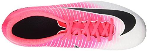 Nike Mercurial Vortex Iii Fg, Zapatillas de Fútbol para Hombre Pink (Racer Pink/black/white)