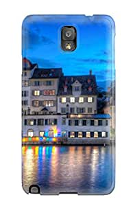 Shane Francis's Shop New Style Hot Tpye Amazing Zurich At Night Case Cover For Galaxy Note 3 5794142K57393719