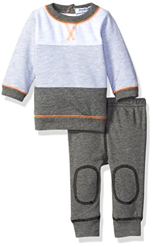 isaac-mizrahi-boys-2pc-fleece-top-with-rear-snap-and-pant-set-shades-of-grey-0-3-months