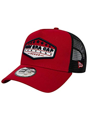 New Era Skate - New Era Patch Trucker Cap - One Size Red