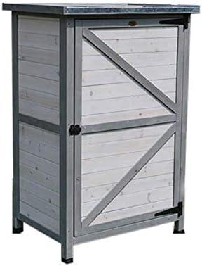 蓋付きガーデン収納ボックス防水、防錆収納ボックス庭屋外耐久性のある収納ボックスガーデン家具、保管場所様々なアイテムは、清潔で整頓されたストレージキャビネットのスペース利用を改善します