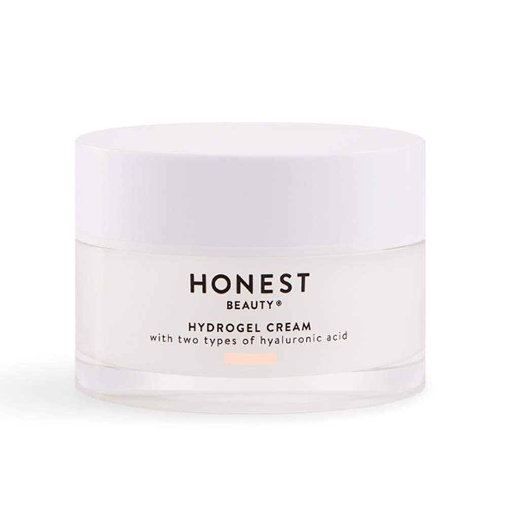 Honest Beauty Hydrogel Cream with Two Types of Hyaluronic Acid & Squalane | Oil-Free, Synthetic Fragrance Free, Dermatologist Tested, Cruelty Free | 1.7 fl. oz.