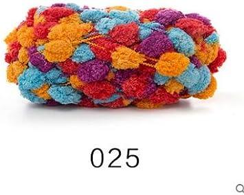 Cushy TPRPYN 3 Piezas=450 g Natural Suave algodón Bufanda Hilo ...