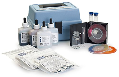 Hach 223002 Chlorine, Hardness, Iron, and pH Test Kit, Model CN-39WR by Hach Company