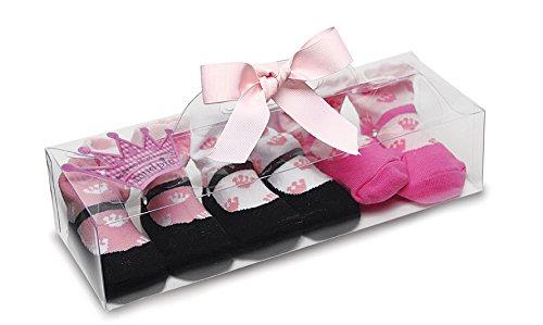 - Mud Pie Baby Little Princess Crown Sock, Set of 3