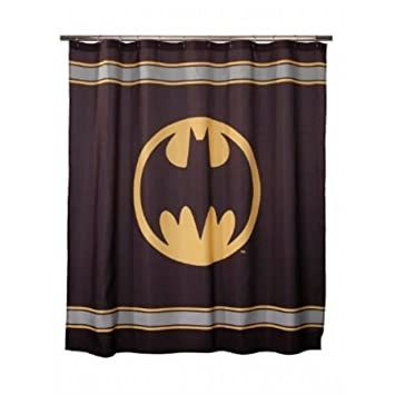 Batman Bathroom Sets | Amazon Com Batman Bathroom Set Includes Shower Curtain Hooks
