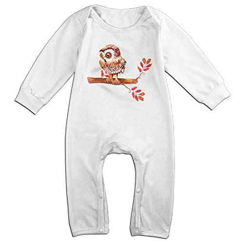 Spanish National Costume (Orz Infants Beautiful Owl And Flowers Long Sleeve Bodysuit Baby Onesie Baby Climbing Clothes Romper For 0-24 Months White 12 Months)