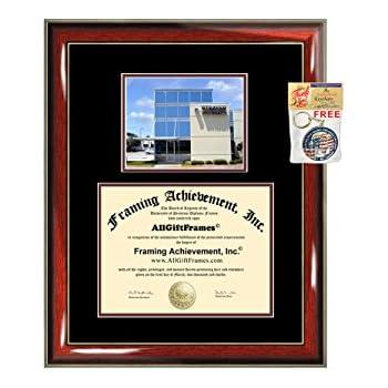 Amazon Com Allgiftframes Strayer University Diploma Frame Custom Double Mat Graduation Degree