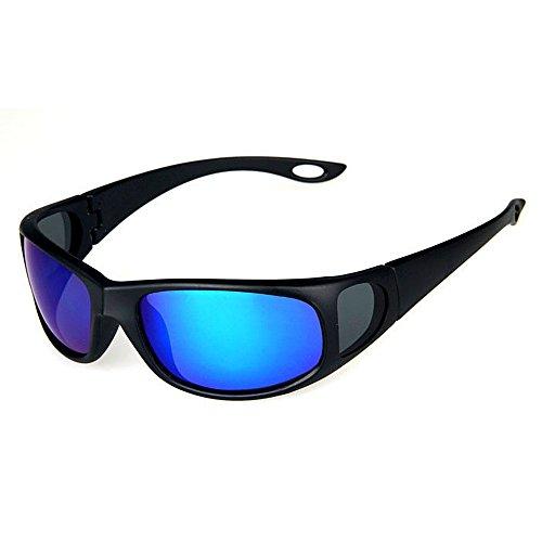 De De de Gafas Sol Hombre para Sol Color Gafas Gafas LBY Azul Green Sol Polarizadas nSHaqRRU