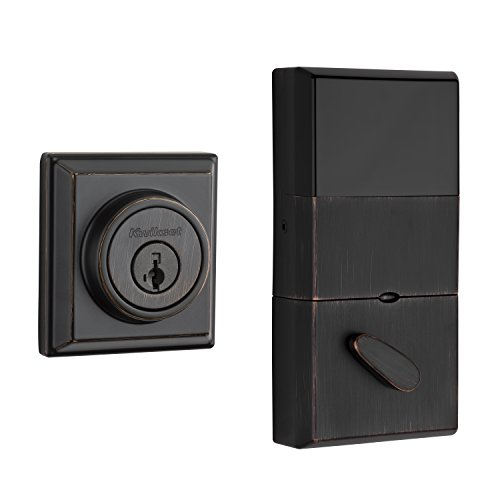 The Contemporary Signature Series Deadbolt with Home Connect technology enables the lock to wirelessly communicate with other devices in home. The lock allows the user (through a third-party smart hom