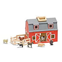 Fold & Go Mini Wooden Barn - Melissa & Doug