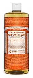 Dr. Bronner\'s Pure-castile Liquid Soap - Fair Trade & Organic 1 Count , Tea Tree, 32 Ounce