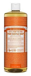 Dr. Bronners Fair Trade & Organic Castile Liquid Soap - (Tea Tree, 32 oz)