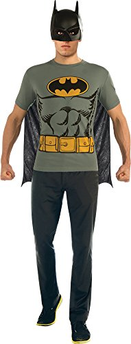 Batman T Shirt Large (Costumes With Capes Ideas)