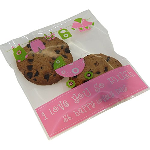 Cookie Candy Party Self Adesive 10x10cm
