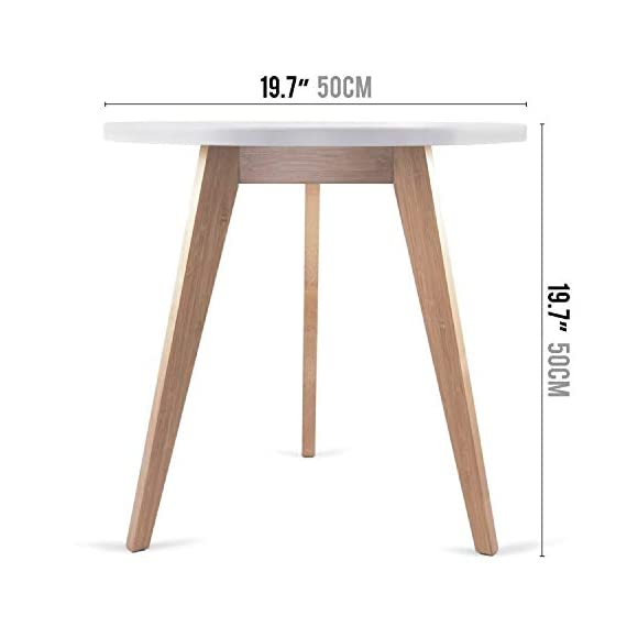 STNDRD. Bamboo End Table: Mid-Century Modern. Bedside Nightstand or Living Room Side Table (Set of 2) - NATURE-FRIENDLY. The STNDRD. 3 legged bamboo side table is an environmentally friendly piece of furniture. Bamboo is one of the many renewable resources in the planet. It takes only 5 years to regrow a bamboo tree compared to other types of hardwood. RUSTIC FURNITURE. This 3 legged bamboo furniture is a versatile piece. It is built from bamboo wood strong enough to hold some indoor plants. The 3 light colored bamboo legs is manufactured without using any method to alter its natural rustic look. PROVIDES COMPETITIVE PRICING ON FURNITURES. Our bamboo table top furniture comes at a competitive price compared to other wood furniture sets. Bamboo is a low cost raw material so it owns a big price advantage over other kinds of furniture sets. - nightstands, bedroom-furniture, bedroom - 41mJjM2K7aL. SS570  -