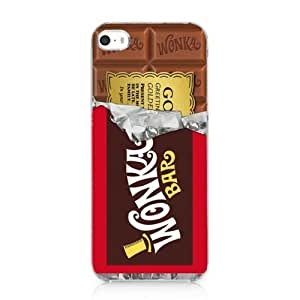 Willy Wonka Golden Ticket Chocolate Bar Case Cover for Iphone 5 5s New 2013