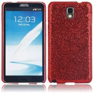 Shining Protective Hard Case for Samsung Note3 Red