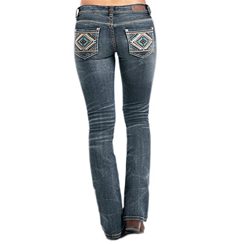 Rock & Roll Cowgirl El Paso Rival Low Rise Jean